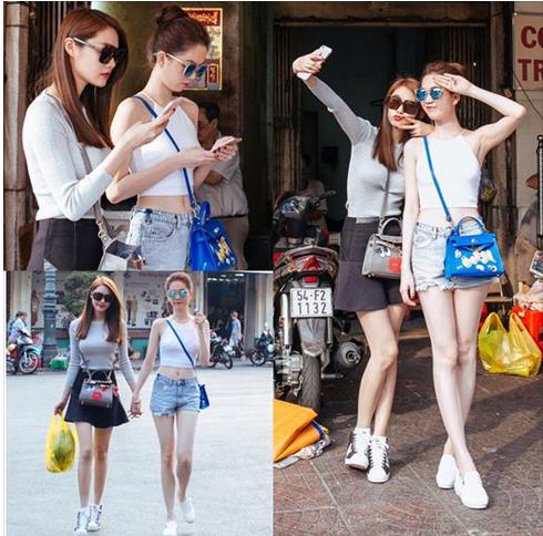 Facebook sao (1): Ngọc Trinh lái siêu xe đi mua rau, Thu Minh khoe bụng bầu 3