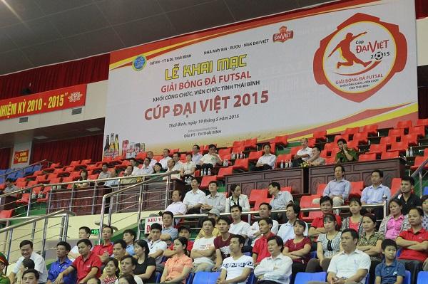Khai mạc giải bóng đá Futssal Thái Bình tranh cup Đại Việt 2015 8