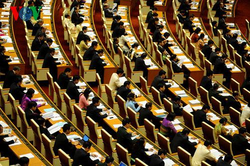 Hình ảnh Sáng nay, khai mạc kỳ họp thứ 9 Quốc hội khóa XIII số 1