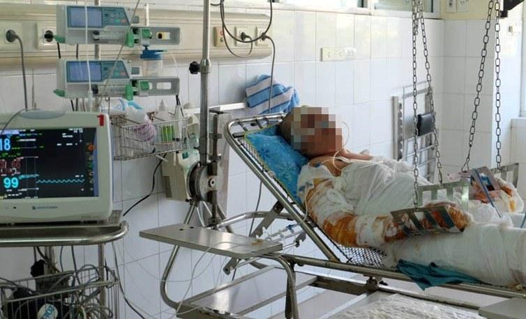 Nạn nhân vụ cháy chợ Phùng Khoang: Hết khoảng 2 tỷ đồng tiền viện phí 1