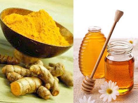 Cách làm đẹp da với mật ong và nghệ đơn giản hiệu quả 1