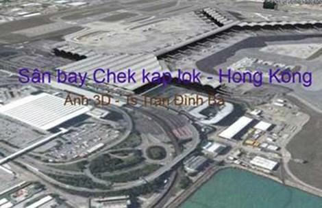 Phối cảnh sân bay Long Thành dính nghi án
