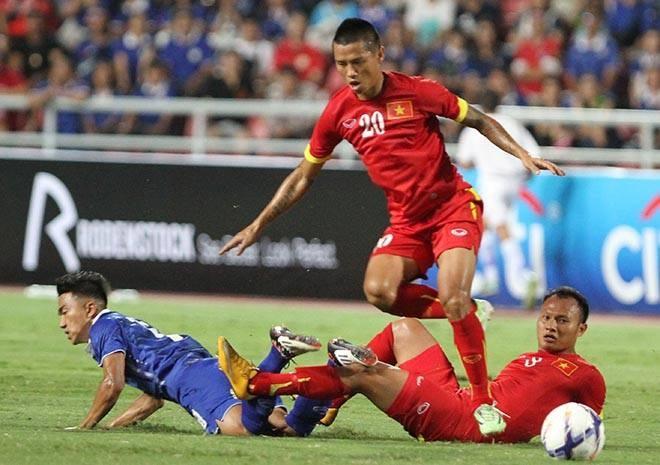 Trực tiếp vòng loại World Cup 2018: Thái Lan 1-0 Việt Nam 2
