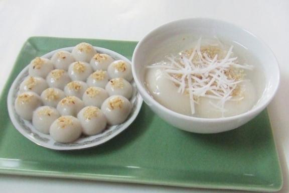 Cách làm bánh trôi nhân đậu xanh dẻo thơm tại nhà 1