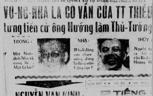 Hình ảnh Tướng Vũ Ngọc Nhạ kể về vụ án chính trị rúng động Sài Gòn số 1