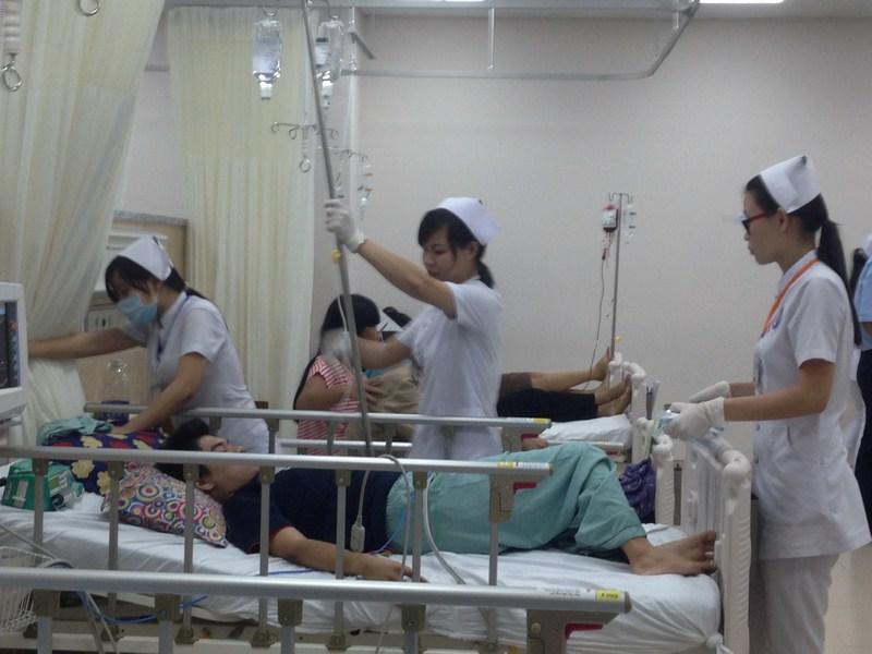 Hàng chục công nhân ở Đồng Nai bị ngộ độc khí 1