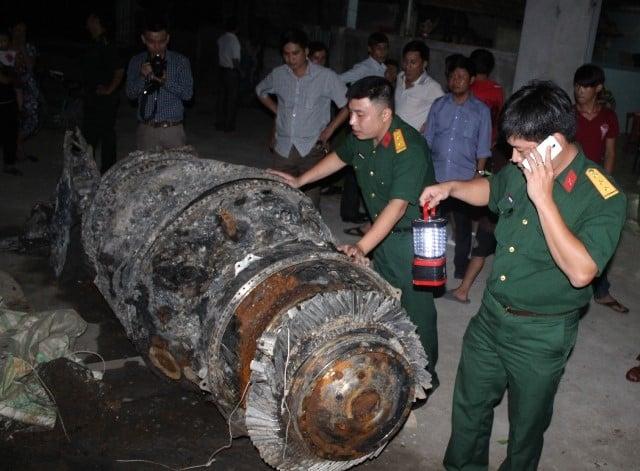 Ngư dân vớt được vật thể lạ ở Hà Tĩnh: Yêu cầu trả tiền nếu thu hồi 2