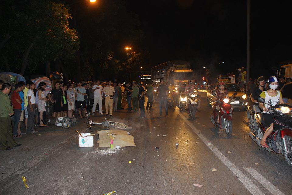 Hà Nội: Thương tâm nữ sinh lớp 12 tử nạn dưới bánh xe tải 1