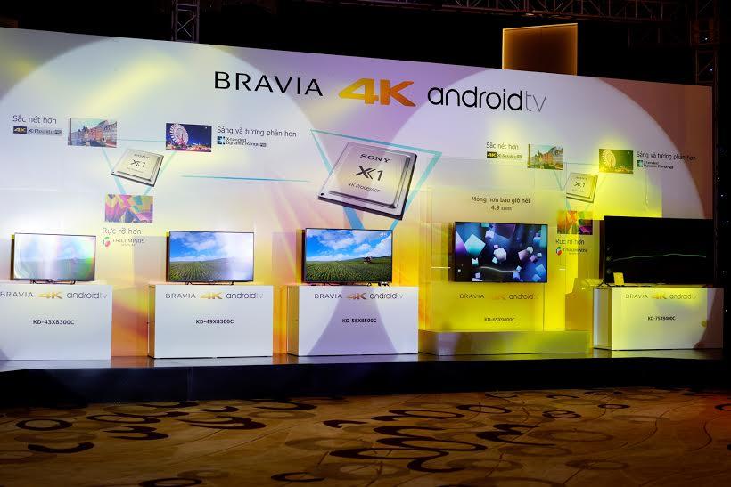 """Sony trình làng """"siêu phẩm"""" TV Bravia 4K tại Việt Nam 2"""