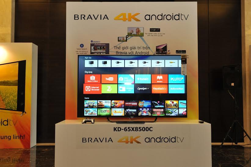 """Sony trình làng """"siêu phẩm"""" TV Bravia 4K tại Việt Nam 3"""