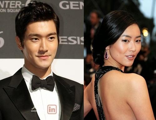 Rộ tin Siwon (Super Junior) hẹn hò người mẫu Lưu Văn 1