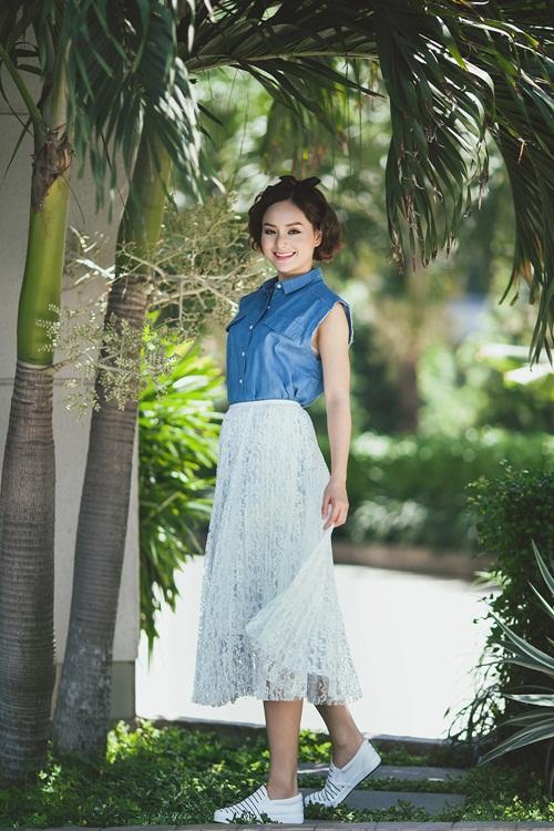 Lan Phương đẹp lên từng ngày với phong cách thời trang mới 5
