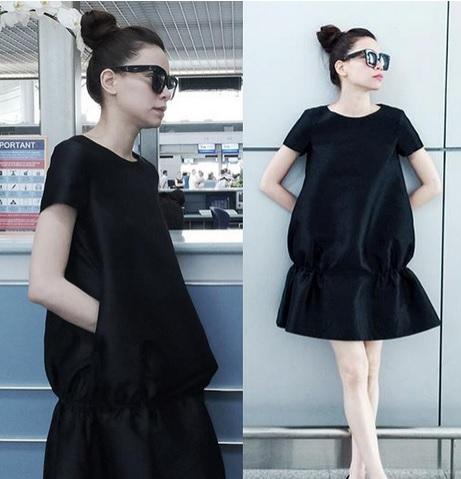 Học lỏm phong cách thời trang xuống phố của sao Việt 3
