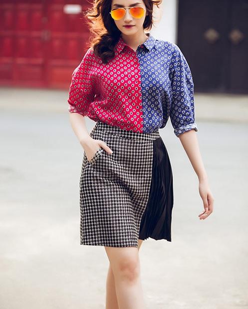 Học lỏm phong cách thời trang xuống phố của sao Việt 6