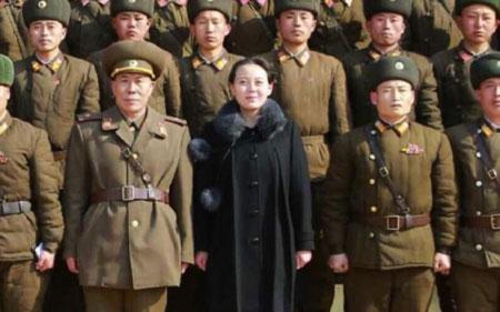 Em gái Kim Jong-un tái xuất sau tin đồn sinh con 1