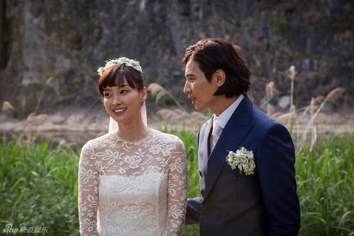 Ảnh cưới giản dị giữa cánh đồng của Won Bin và Lee Na Young 3