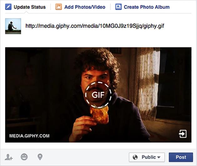 Facebook đã hỗ trợ hiển thị ảnh GIF động 3