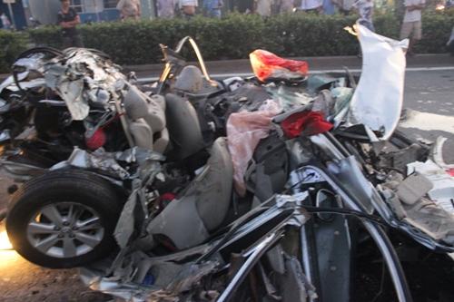 Sự thật thông tin xe gây tai nạn thảm khốc 5 người chết bị mất phanh 1