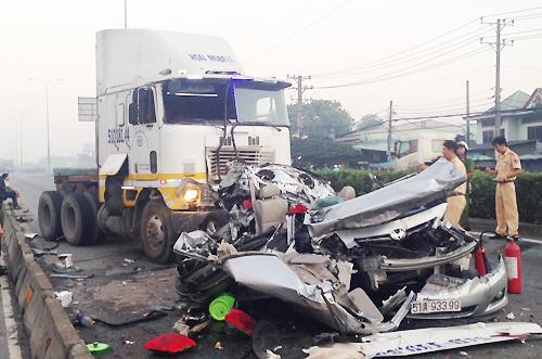 Tai nạn thảm khốc 5 người chết: Gia đình cho là do... định mệnh 1