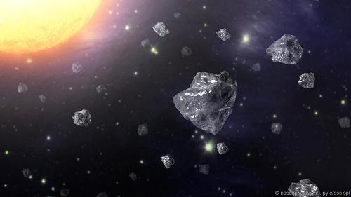 Phát hiện kim cương trong thiên thạch rơi xuống Trái Đất 3