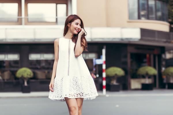 Học cách xuống phố đón hè của Diễm My với vẻ đẹp ngọt ngào 4