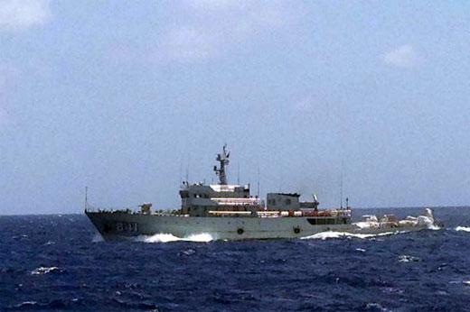 Tàu Hải quân Trung Quốc đe dọa tàu cứu nạn Việt Nam ở Hoàng Sa 1