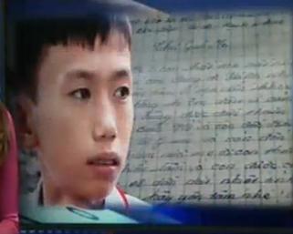 Xúc động lá thư gửi người mẹ đã mất của học sinh lớp 7 mồ côi 1
