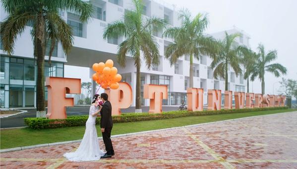 Chụp ảnh cưới ở trường học khiến sinh viên yêu sớm? 3