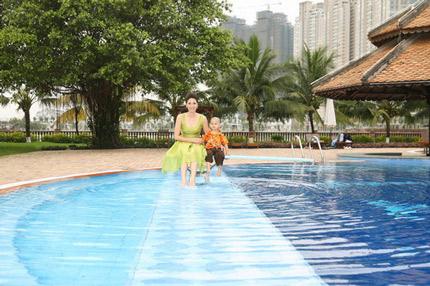 Biệt thự xa hoa, đắt đỏ của Trương Ngọc Ánh và Hoa hậu Hà Kiều Anh 5
