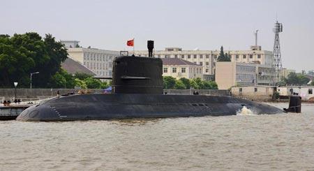 Tiết lộ điểm yếu của lực lượng tàu ngầm Trung Quốc 1