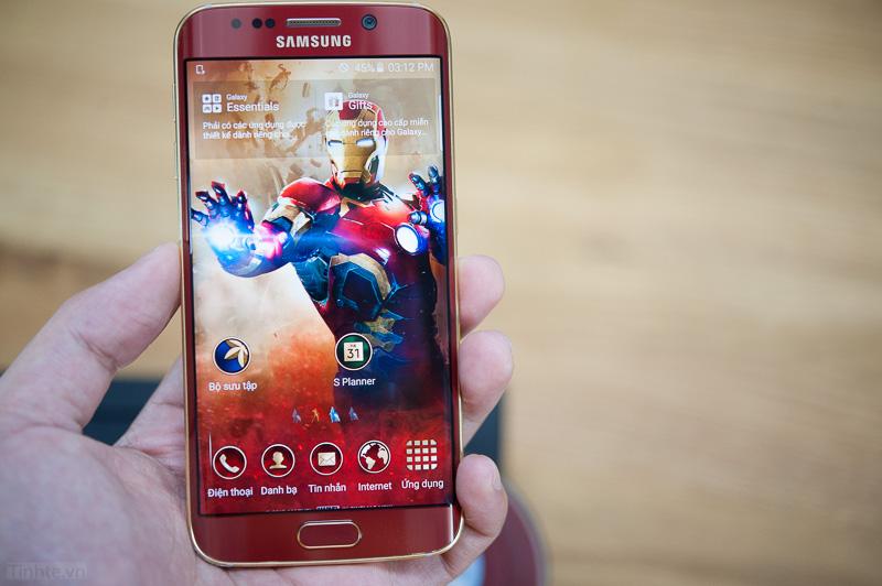 Galaxy S6 Edge phiên bản Iron Man giá gần 60 triệu 6