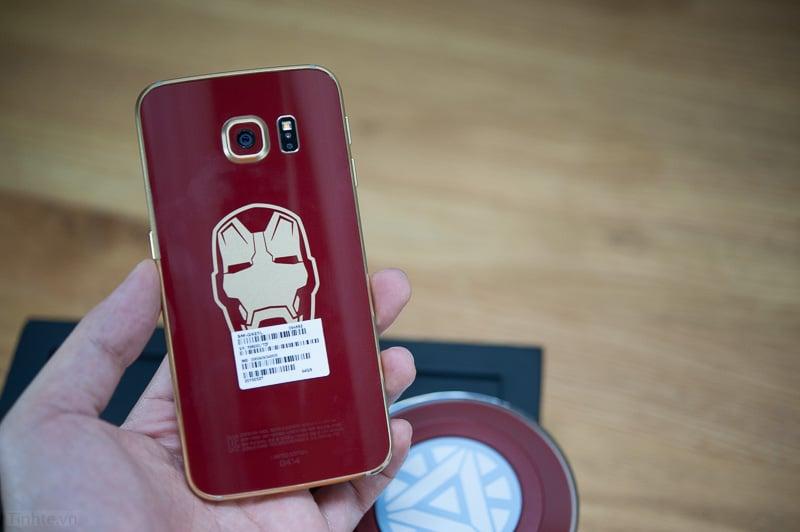 Galaxy S6 Edge phiên bản Iron Man giá gần 60 triệu 7