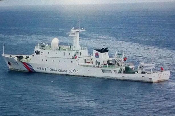 Malaysia chặn tàu cảnh sát biển Trung Quốc xâm phạm lãnh hải