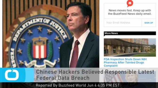 CNN: Tin tặc Trung Quốc tấn công chính phủ Mỹ 1