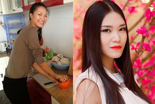 Hình ảnh Soi mặt mộc khi không son phấn của 4 hoa hậu Việt số 14