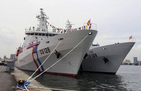 Đài Loan ngang ngược đưa tàu tuần duyên khủng ra Trường Sa 2
