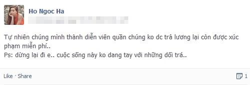 """Ca sĩ Anh Thúy chỉ trích lối sống """"giả tạo"""" của Hồ Ngọc Hà 3"""