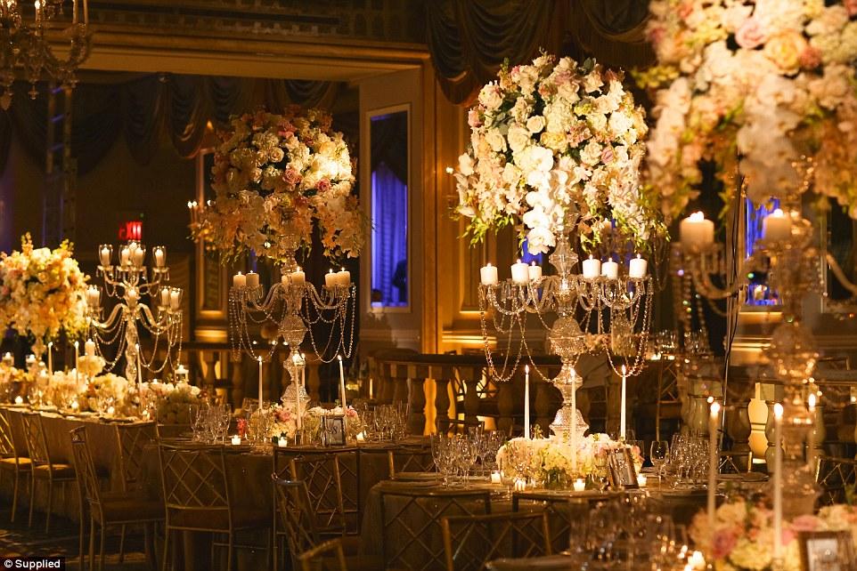 Đám cưới siêu sang nhất thế giới: Cô dâu chi hơn 21 tỷ đồng cho hoa tươi 2