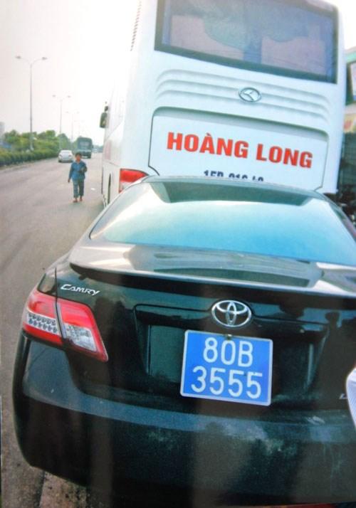 Vụ tài xế xe biển xanh bỏ trốn sau khi gây tai nạn: Xe dùng biển số giả 1