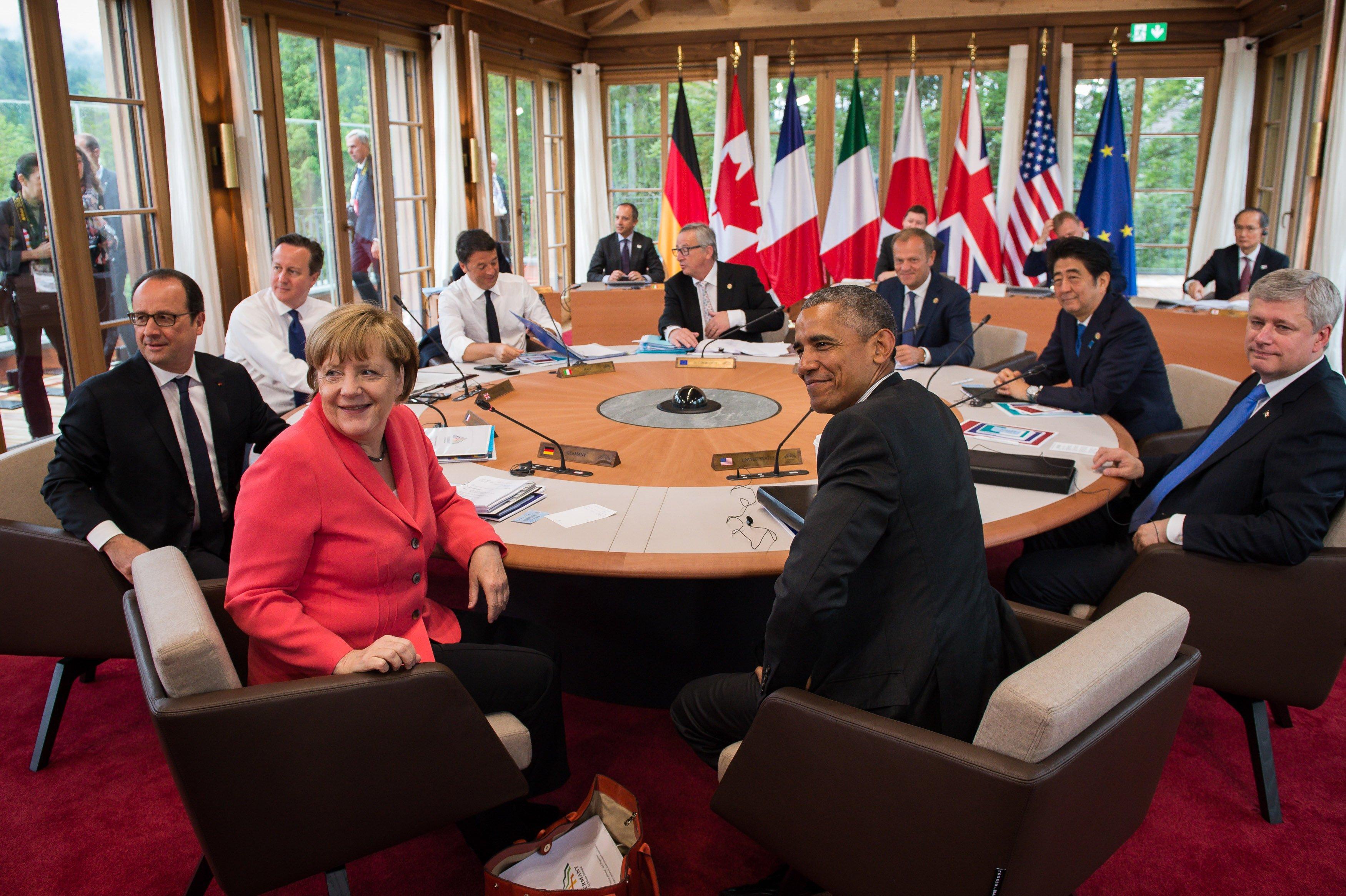 G7 ra thông cáo phản đối Trung Quốc cải tạo đảo tại Biển Đông 1
