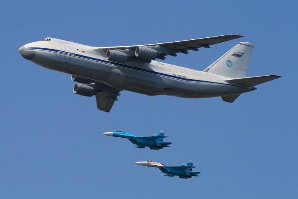 Top 10 máy bay vận tải quân sự lớn nhất thế giới 2