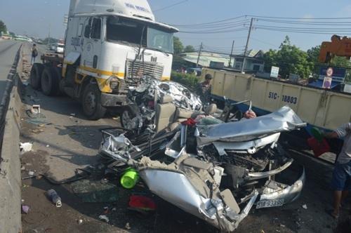 Vụ tai nạn thảm khốc khiến 5 người chết ở TP.HCM: Tài xế là chủ xe 1
