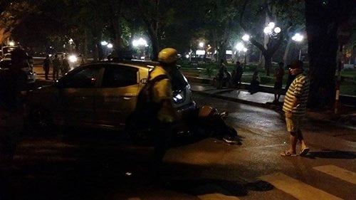 """Hà Nội: Cãi nhau với vợ, tài xế """"xe điên"""" gây tai nạn liên hoàn 1"""