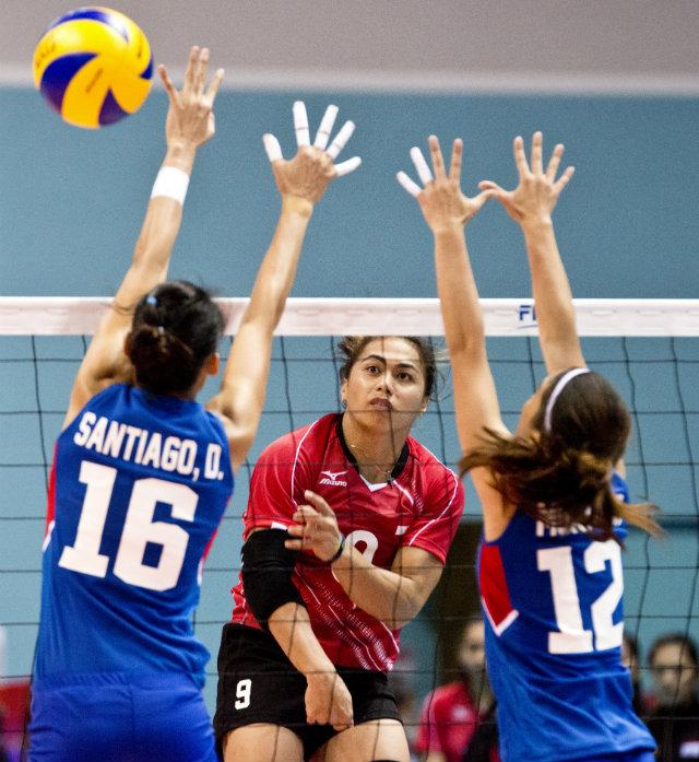 Sốc: Nữ vận động viên bóng chuyền Indonesia bị đề nghị kiểm tra giới tính 5