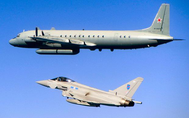 Máy bay Anh đánh chặn chiến đấu cơ Nga trên biển Baltic 1