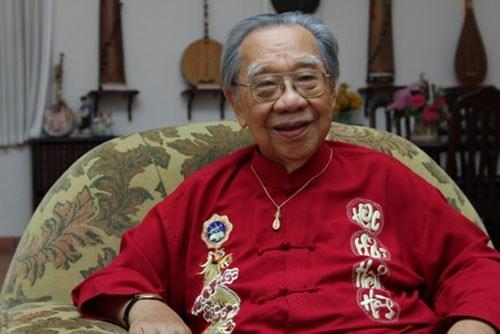 GS. Trần Văn Khê muốn tiền phúng điếu tang lễ của mình được dùng lập quỹ học bổng 1