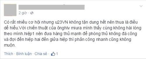 Facebook tràn ngập nỗi thất vọng của đội tuyển Việt Nam 5