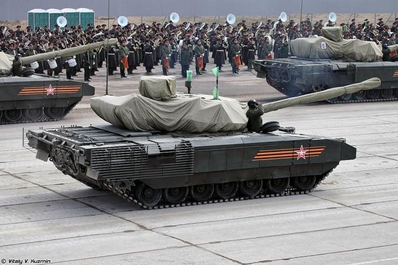 Tại sao Trung Quốc, Ấn Độ muốn xe tăng chiến đấu Armata mới của Nga 1