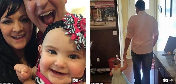 Bức ảnh cảnh sát dỗ dành bé gái sau tai nạn gây sốt 5