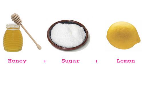 Kết quả hình ảnh cho hình ảnh đường, chanh, mật ong